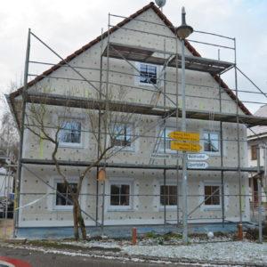 Bauunternehmen Stix, Fürstenfeldbruck - Dämmung eines Hauses