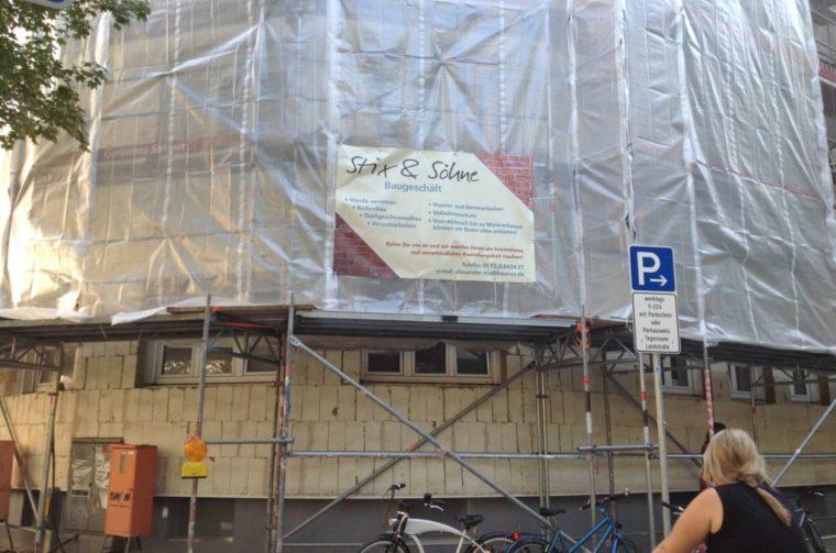 Bauunternehmen Stix, Fürstenfeldbruck - Fassadenrenovierung